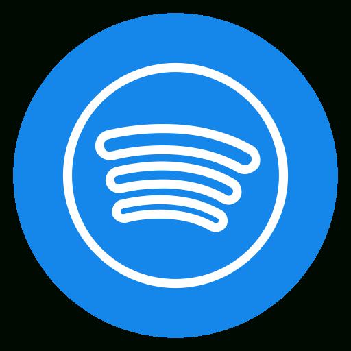 Excelent Spotify Transparent Blue Huge Freebie! Download