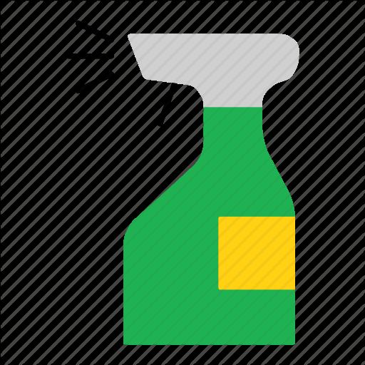 Bottle, Clean, Disinfectant, Household, Spray, Spray Bottle Icon