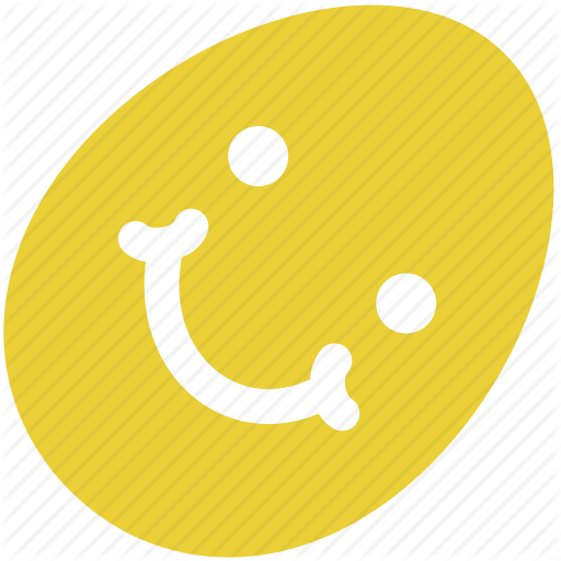 Easter, Egg, Face, Ornament, Pattern, Smile, Spring Icon