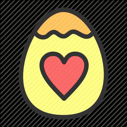 Easter, Egg, Love, Spring Icon