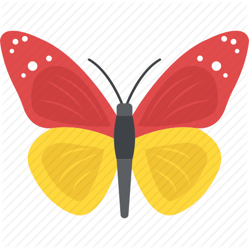 Butterfly, Garden Insects, Insect, Moth, Spring Season Icon