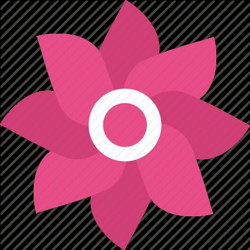 Dahlia, Floral, Flower, Natural Blossom, Spring Season Icon