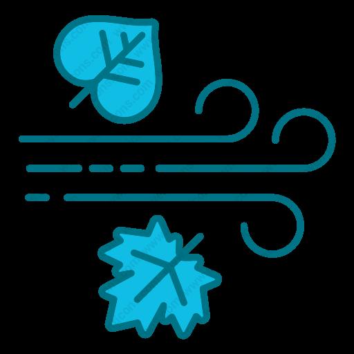 Download Autumn,fall,rain,rainy,season Icon Inventicons