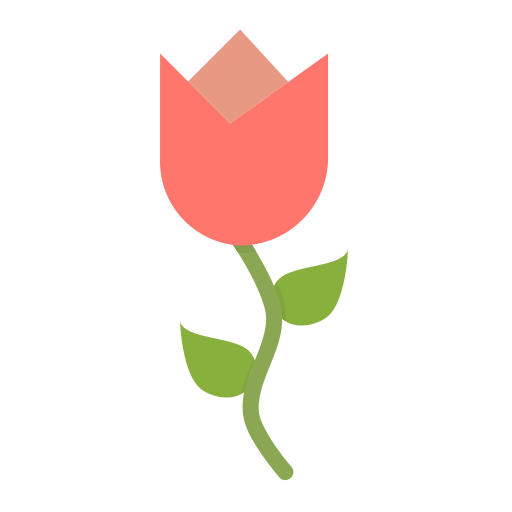 Tulip, Flower, Spring, Blossom, Ecology, Nature, Floral Icon Free