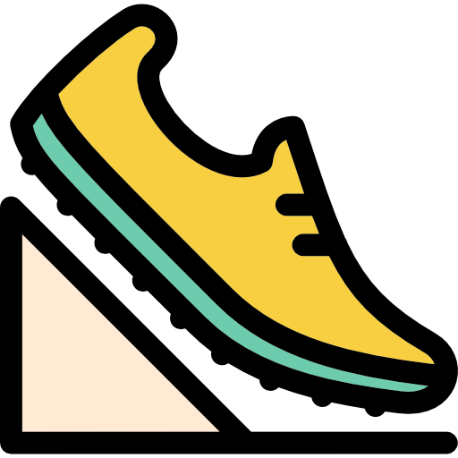 Sprint, Fitness, Racing, Sports, Running, Shoe Icon