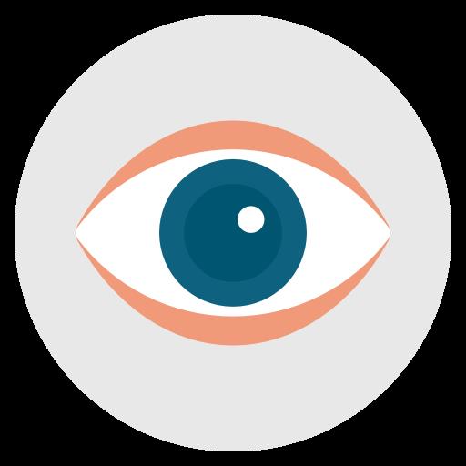 Eye, Spy, Search, Look, Eyeball Icon Free Of Flat Design Icons