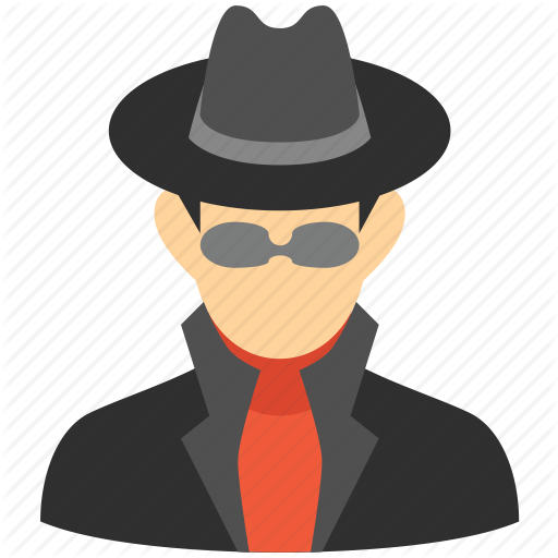 Hacker, Person, Secret Service, Security, Spy, Thief, User Icon