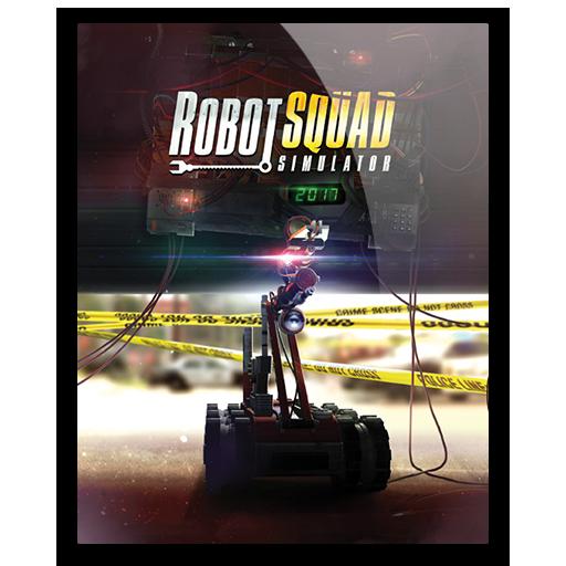 Icon Robot Squad Simulator Hazzbrogaming