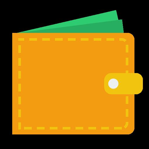 Money, Wallet, Cash Icon