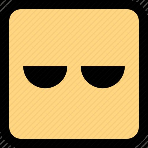 Bored, Emoji, Expression, Face Icon