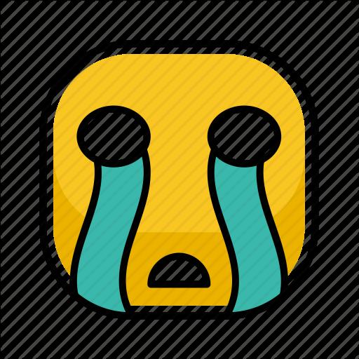 Cry, Emoji, Emotion, Expression, Face Icon