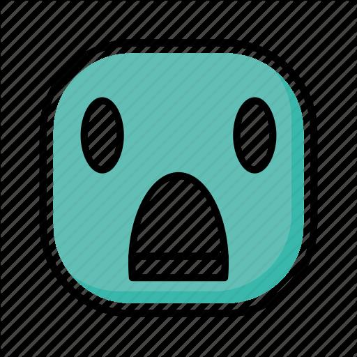 Emoji, Emotion, Expression, Face, Shock Icon