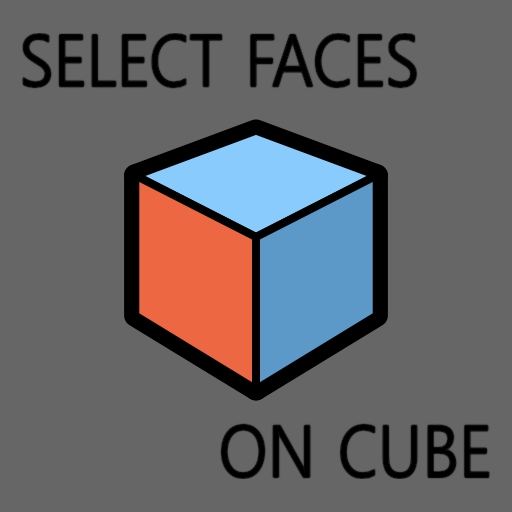 Select Faces On Cube Cgtools