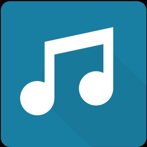 Audio, Design, Material, Media, Music, Play, Square Icon