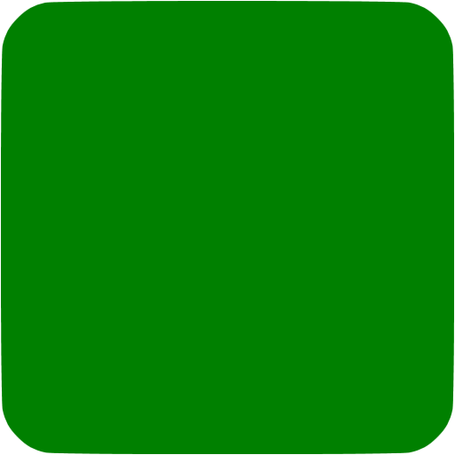 Green Square Rounded Icon