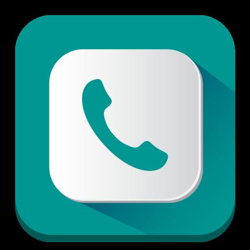 Phone Icon Long Shadow Iconset Pelfusion