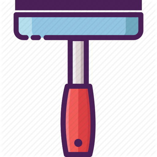 Clean, Cleaning Service, Squeegee, Window, Window Squeegee Icon