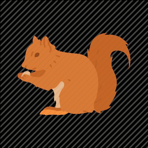 Brown Squirrel, Chipmunk, Mammal, Squirrel Icon