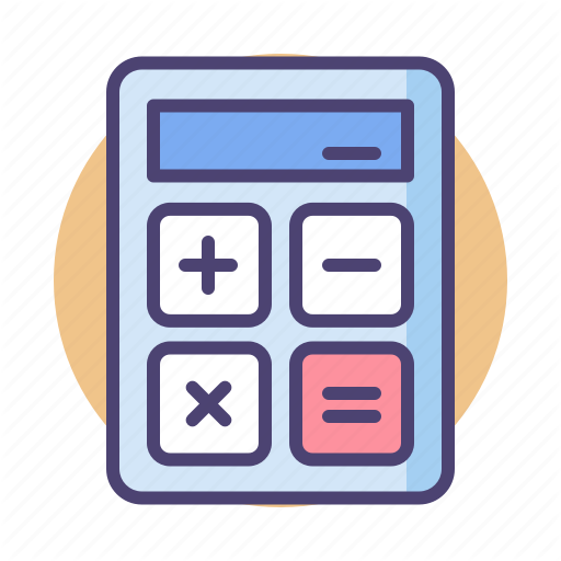 Calculator, Math, Mathematician, Maths Icon