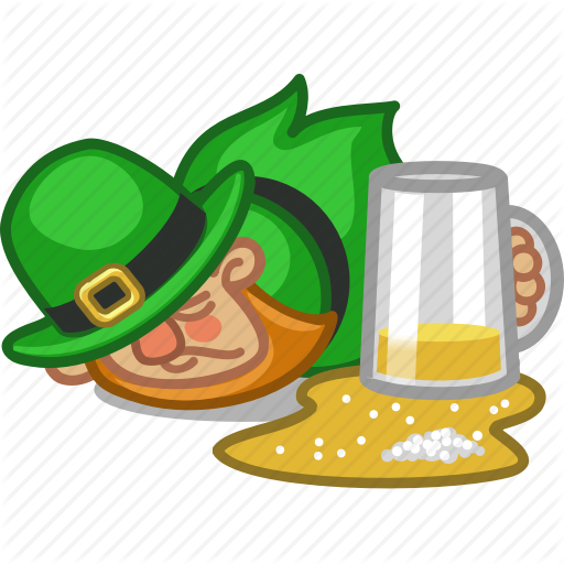 Beer, Drunk, Irish, Lager, Leprechaun, Person, Saint Patrick Icon