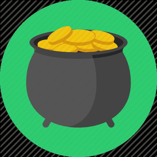 Gold, Pot, Pot Of Gold, Saint Patrick, St Patrick's Day