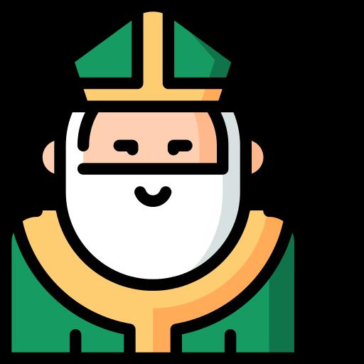 Saint Patrick Christian Png Icon