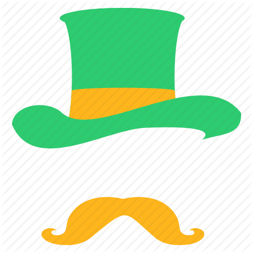 Clothing, Costume, Disguise, Hat, Leprechaun, Moustache, Saint