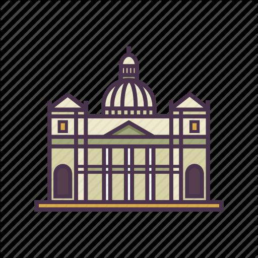 Architecture, Church, Rome, St Peter's Basilica, Vatican Icon