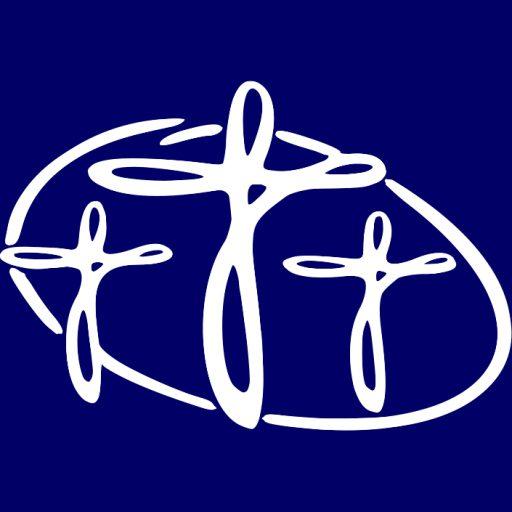 Cropped Csp Icon White On Purple Chalfont St Peter Parish