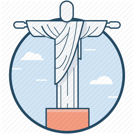 Brazil, Christ The Redeemer, Jesus Christ, Statue Icon
