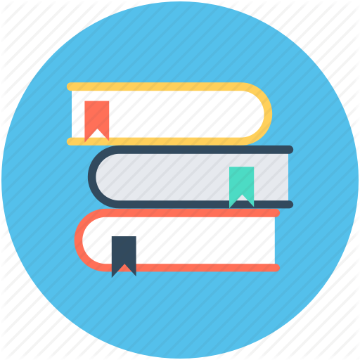 Book Stack, Bookmark, Books, Knowledge, Reading Icon