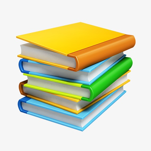 Stack Of Books, Stack, Book, Color Png Image And Clipart For Free