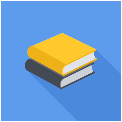 Black, Yellow, Stacked, Books Icon Free Of Books Reading Icons