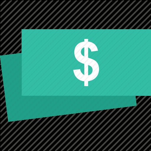Bills, Dollar, Money, Stack Icon