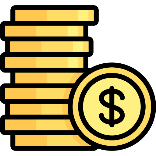 Coin Stack Money Png Icon