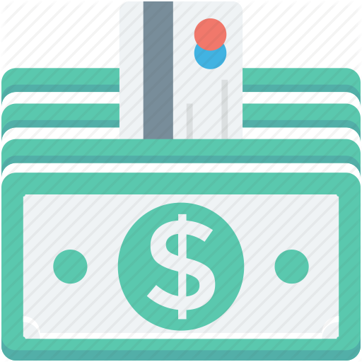 Credit Card, Currency Stack, Money Card, Money Stack, Paper Money Icon