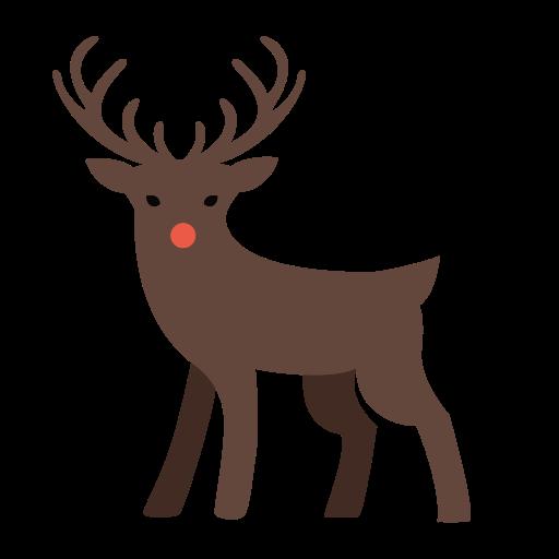 Deer, Christmas Icon Free Of Xmas Deco Free Icons