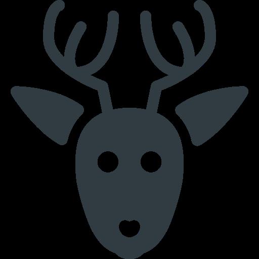 Rudolf, Deer, Christmas Icon Free Of Christmas Glyph