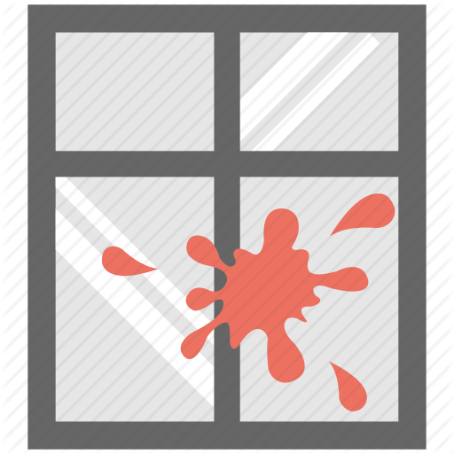 Cleaning, Dirty Window, Staind Window, Stained Glass, Wiping Icon