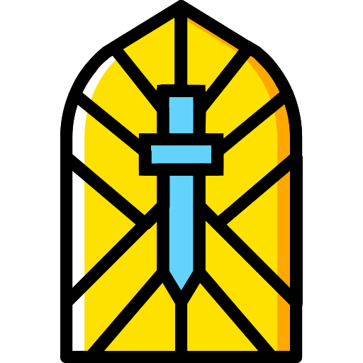 Stained Glass Window Png Icon