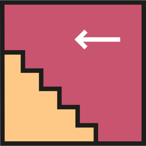 Stairs, Cartoon, Hand Painted, Icon Png Image And Clipart For Free