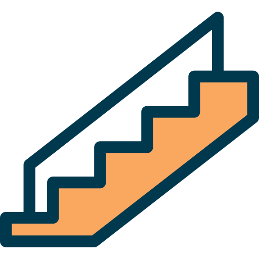 Stairs Png Icon