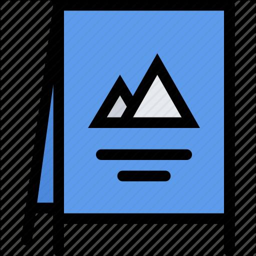 Advertising Stand, Brand, Branding, Design, Print, Stand Icon