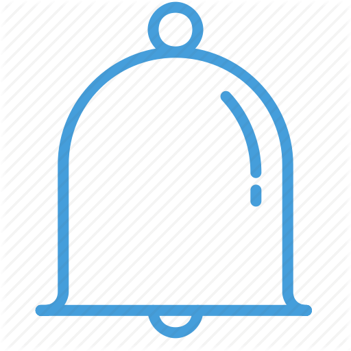 Bell, Blue, Notification, Ring, Standard, Ui Icon