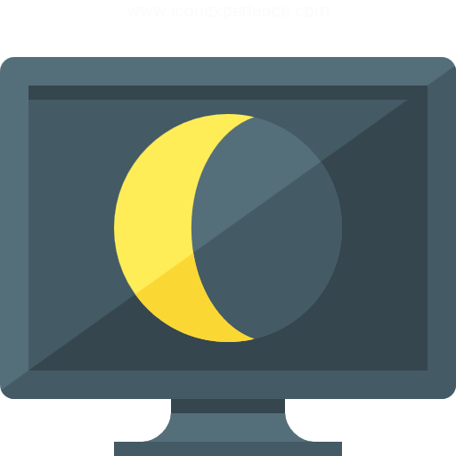 Iconexperience G Collection Monitor Sleep Icon