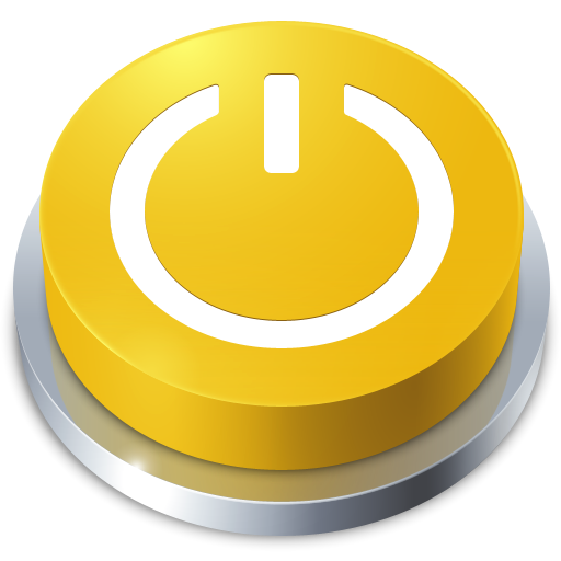 Perspective Button Standby Icon I Like Buttons Iconset