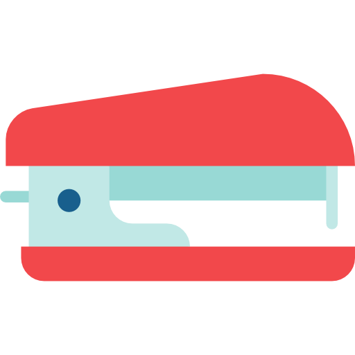 Tools And Utensils, Office Material, Stapler, School Material Icon