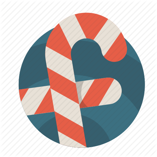 Candy, Christmas, Facebook, Jolly, Winter Icon