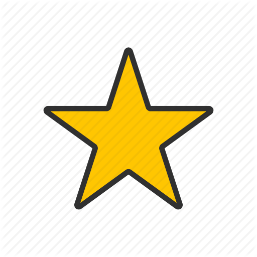 Best, Favorite, Gold Star, Rating, Star Icon