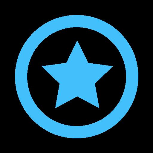 Blue Star Icon